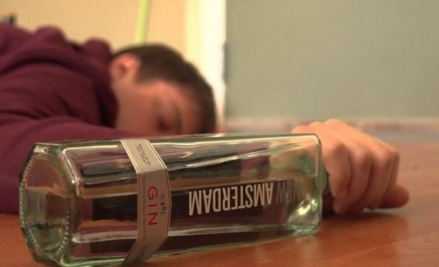 Алкоголик на последней стадии