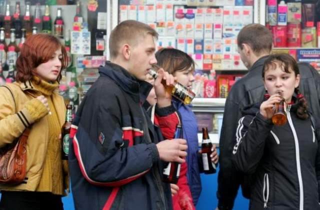 Пьяные подростки фото 1
