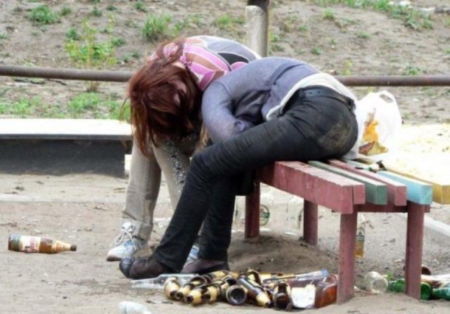 Пьяные подростки фото 6