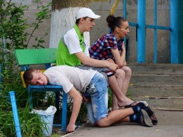 Молодые наркоманы