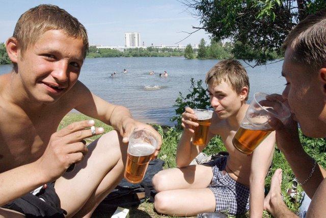 Пьяные подростки фото 4