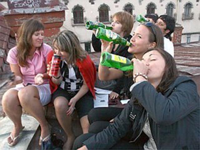 Пьяные подростки фото 5