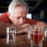 Алкоголизм у стариков