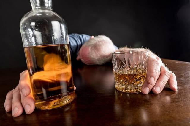 Отрицание хронического алкоголика