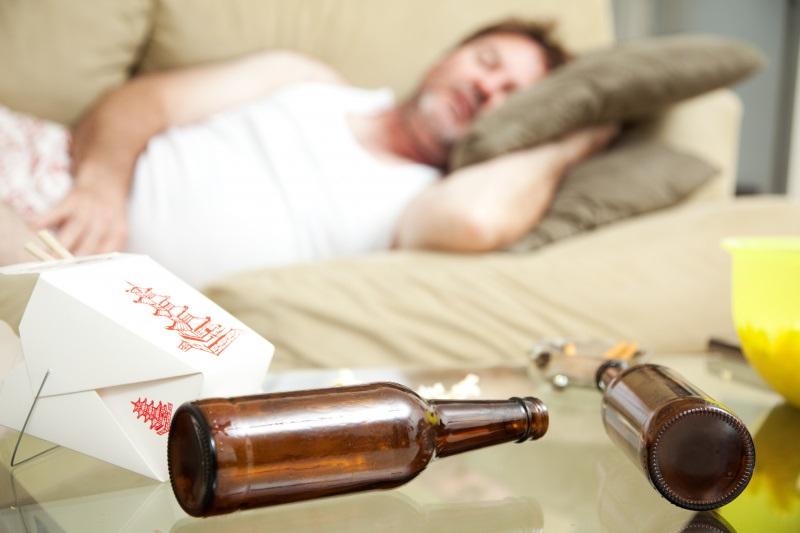 Алкоголь как снотворное