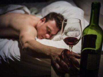 Алкоголь перед сном