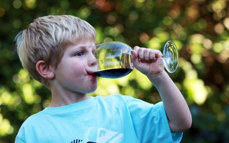 Ребенок начал пить алкоголь
